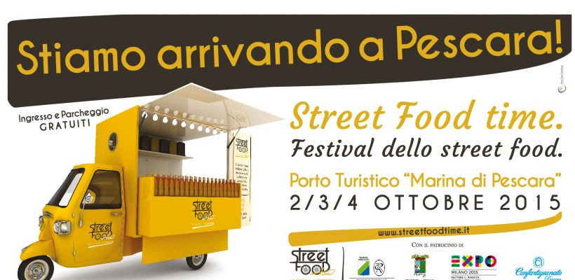 Street Food Time 2015 – La Felicità in un cartoccio