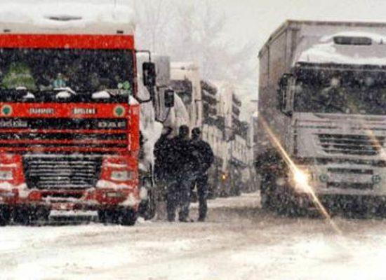 Maltempo: dalle 22 stop a mezzi pesanti su strade extraurbane della provincia