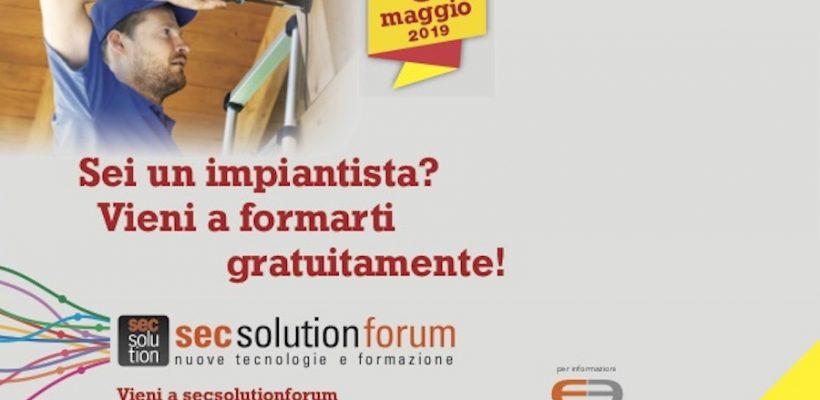 Secsolutionforum: un programma formativo di qualità per i professionisti della sicurezza